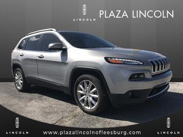 2017 Jeep Cherokee LIMITED Leesburg Florida