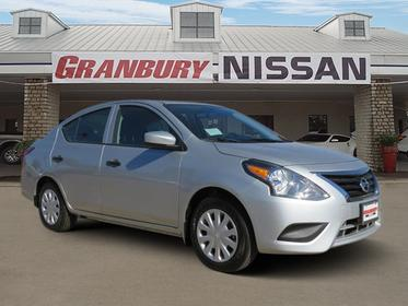 2018 Nissan Versa Sedan S PLUS 4dr Car Granbury TX