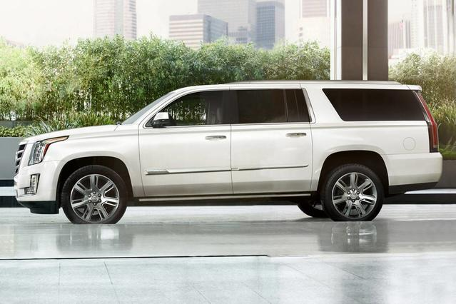 2018 Cadillac Escalade ESV LUXURY Slide 0