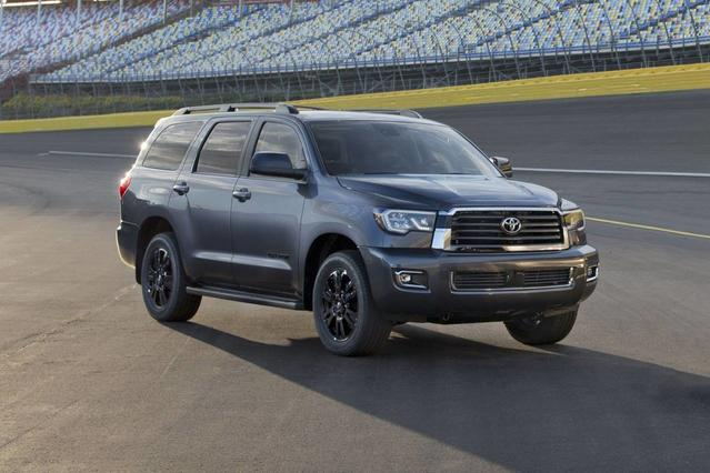 2018 Toyota Sequoia LIMITED LIMITED 4WD Sport Utility Slide 0