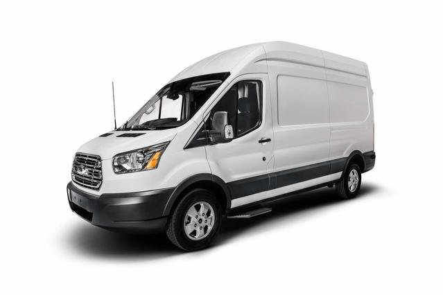 "2018 Ford Transit Van T-150 130"" MED RF 8600 GVWR SLIDING RH DR 150 3dr SWB Medium Roof Cargo Van w/Sliding Passenger Side Door Slide 0"