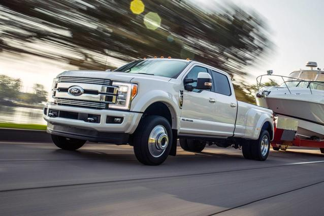 2018 Ford F-450SD XL Crew Cab Pickup Slide 0
