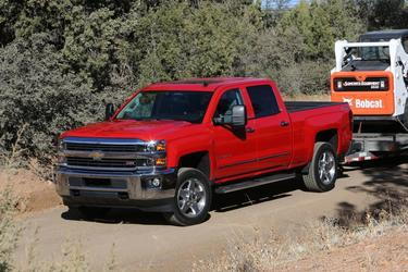 2017 Chevrolet Silverado 3500HD LTZ Pickup Slide