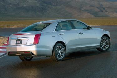 2017 Cadillac CTS Sedan LUXURY RWD Sedan Apex NC
