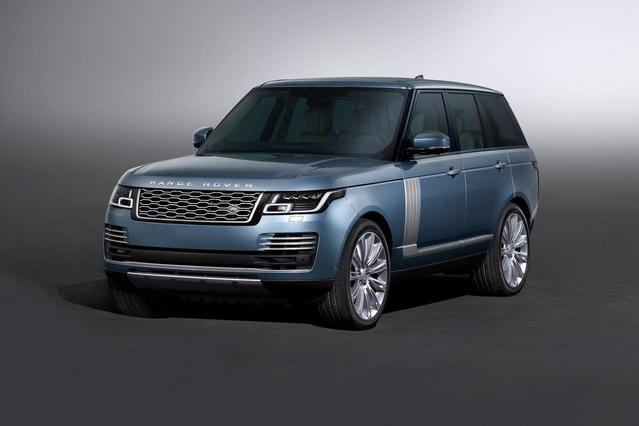 2018 Land Rover Range Rover HSE SUV Slide 0