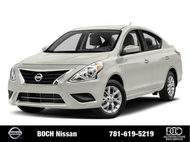 2018 Nissan Versa Sedan SV 4dr Car
