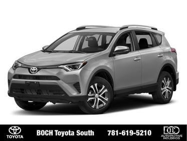 2018 Toyota RAV4 LE AWD Sport Utility North Attleboro MA