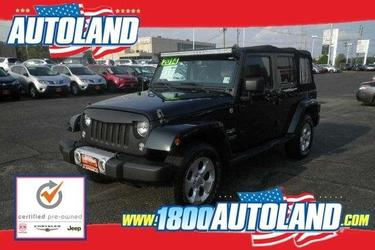 2014 Jeep Wrangler Unlimited UNLIMITED SAHARA Convertible Springfield NJ