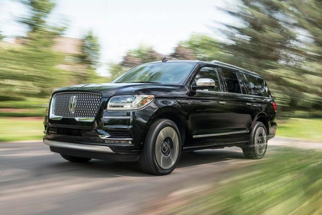 2018 Lincoln Navigator L BLACK LABEL Sport Utility Slide 0