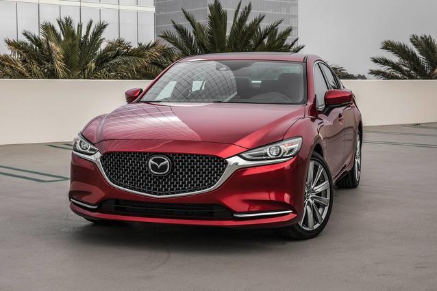 2018 Mazda Mazda6 TOURING 4dr Car Slide 0