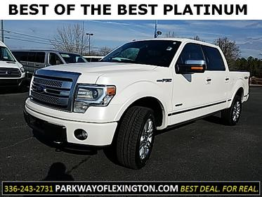 2014 Ford F-150 PLATINUM 4D SuperCrew Lexington NC