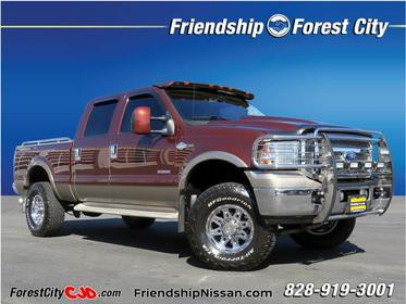 2006 Ford F-350 Super Duty KING RANCH Lariat 4dr Crew Cab 4WD SB Forest City NC