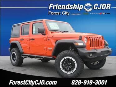 2018 Jeep Wrangler Unlimited UNLIMITED SPORT 4x4 Sport 4dr SUV (midyear release) Forest City NC