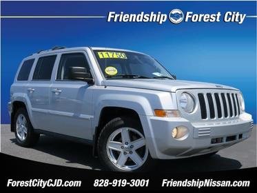 2010 Jeep Patriot LIMITED 4x4 Limited 4dr SUV Forest City NC