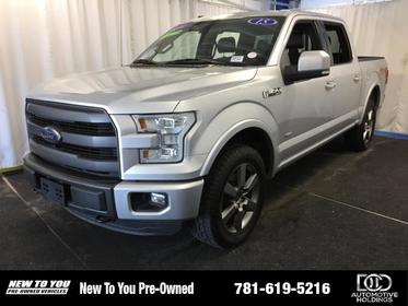 "2015 Ford F-150 4WD SUPERCREW 145"" LARIAT Norwood MA"