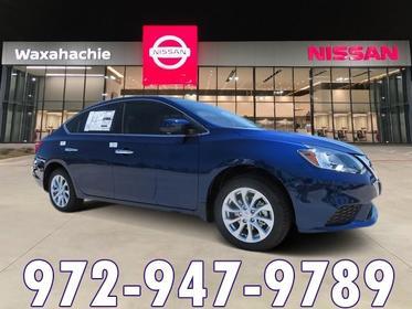 2018 Nissan Sentra SV 4dr Car Waxahachie TX