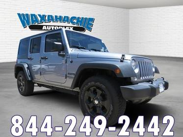 2016 Jeep Wrangler Unlimited SPORT Sport Utility Fort Worth TX