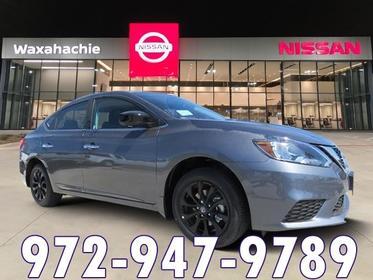 2018 Nissan Sentra S 4dr Car Waxahachie TX
