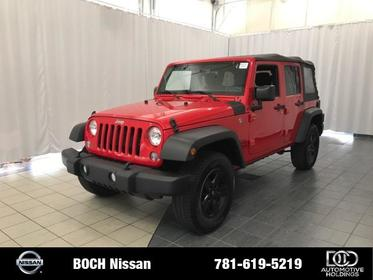 2016 Jeep Wrangler Unlimited 4WD 4DR SPORT Norwood MA