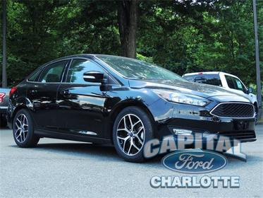 2018 Ford Focus SEL 4D Sedan Charlotte NC