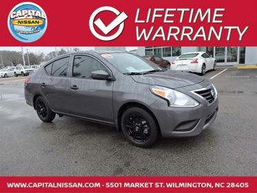 2018 Nissan Versa Sedan S PLUS 4dr Car Wilmington NC