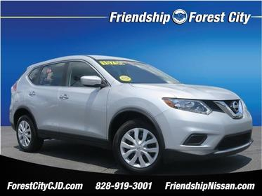 2015 Nissan Rogue S S 4dr Crossover (midyear release) Forest City NC