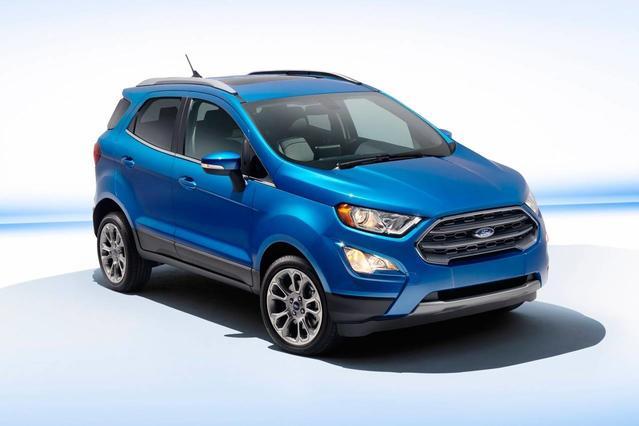 2018 Ford EcoSport TITANIUM Sport Utility Slide 0