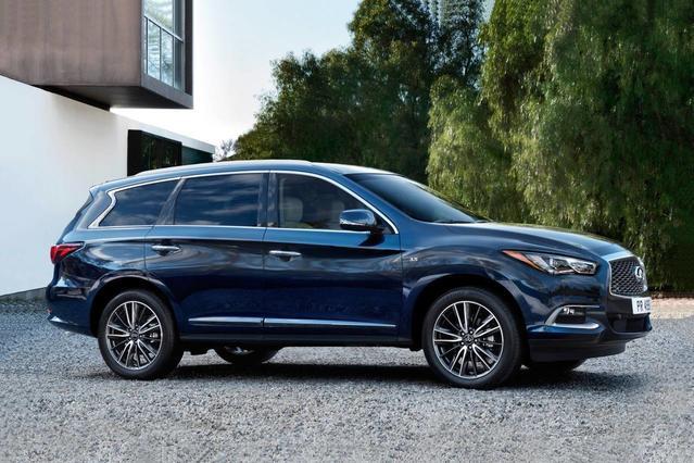 2017 INFINITI QX60  SUV Slide 0