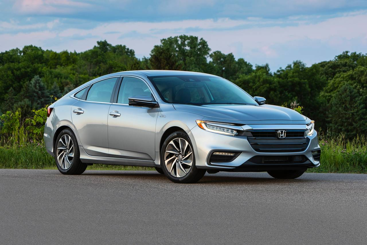 2019 Honda Insight EX 4dr Car Slide 0