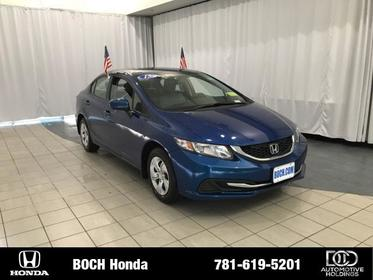 2015 Honda Civic 4DR CVT LX Norwood MA