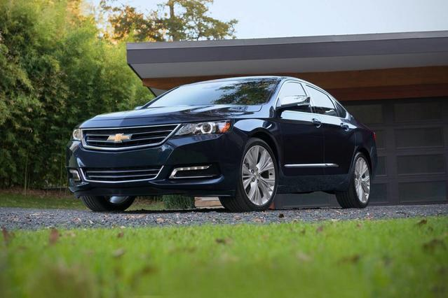 2019 Chevrolet Impala LT 4dr Car Slide 0