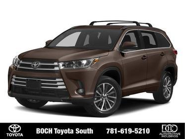 2018 Toyota Highlander XLE V6 AWD Sport Utility North Attleboro MA
