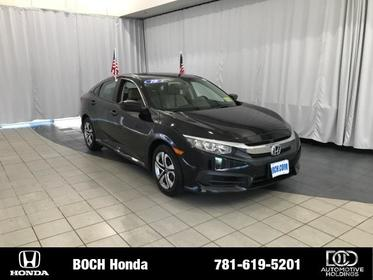 2016 Honda Civic 4DR CVT LX Norwood MA