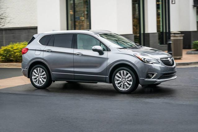 2019 Buick Envision ESSENCE Sport Utility Slide 0