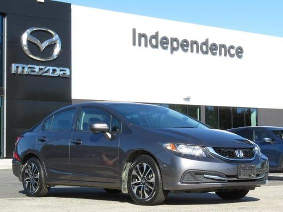 2015 Honda Civic Sedan EX Slide 0
