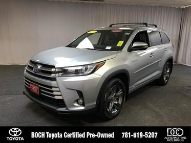 2017 Toyota Highlander HYBRID LIMITED PLATINUM V6 AWD Norwood MA