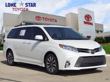 2018 Toyota Sienna LIMITED PREMIUM Mini-van, Passenger Lewisville TX