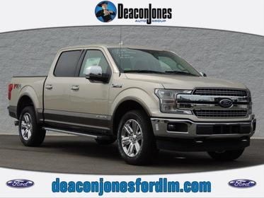 2018 Ford F-150 LARIAT 4WD SUPERCREW 5.5' BOX  NC