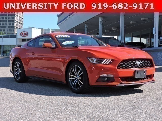 2017 Ford Mustang ECOBOOST PREMIUM 2dr Car Hillsborough NC