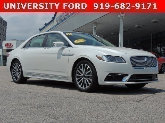 2017 Lincoln Continental SELECT 4dr Car Wilmington NC
