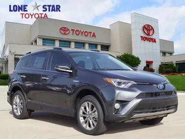 2018 Toyota RAV4 HYBRID LIMITED Sport Utility Lewisville TX