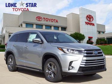 2018 Toyota Highlander HYBRID LIMITED PLATINUM Sport Utility Lewisville TX