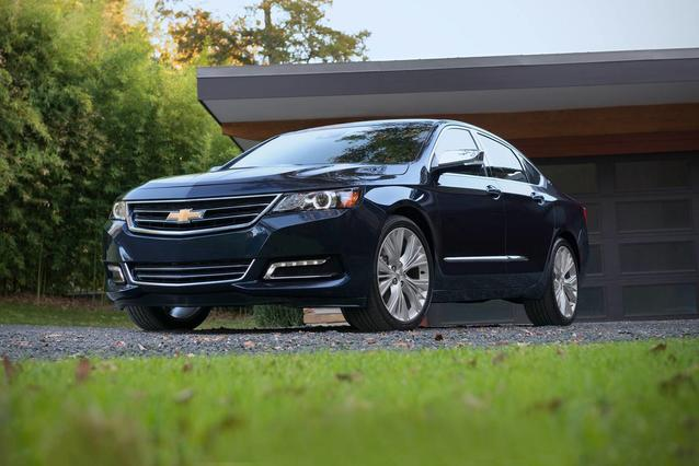 2019 Chevrolet Impala LS 4dr Car Slide 0