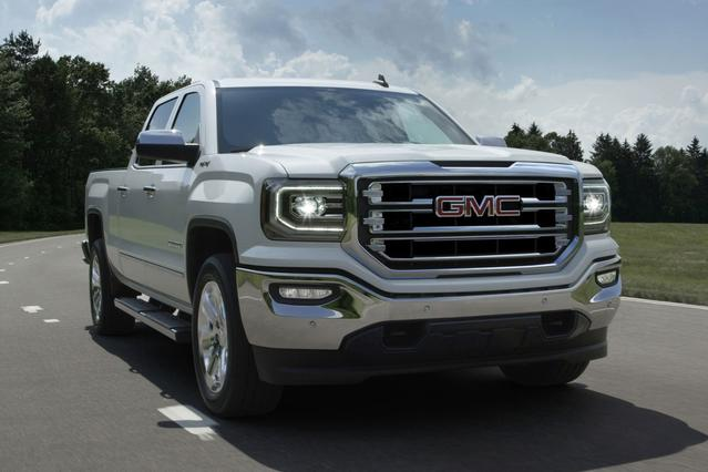 2018 GMC Sierra 1500 SLT Pickup Slide 0