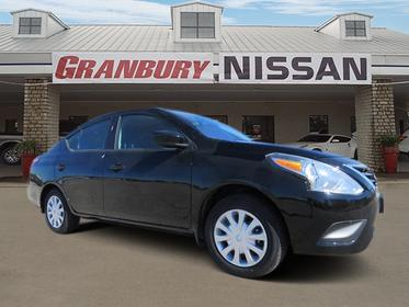 2018 Nissan Versa Sedan S 4dr Car Granbury TX