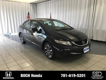 2015 Honda Civic 4DR CVT EX Norwood MA