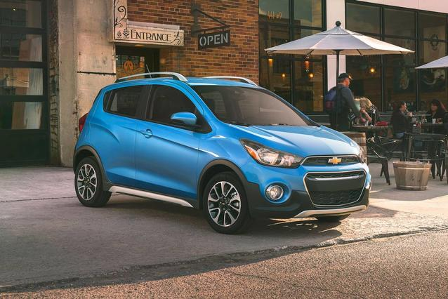2019 Chevrolet Spark LT Hatchback Slide 0