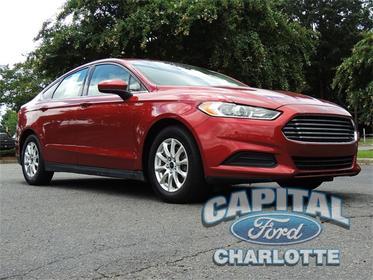 2016 Ford Fusion S 4D Sedan  NC