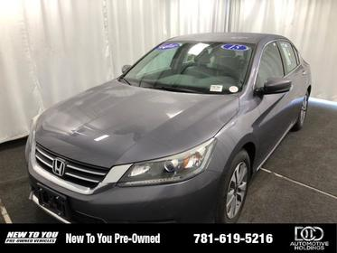2015 Honda Accord 4DR I4 CVT LX