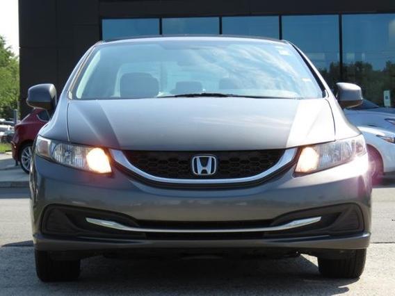 2013 Honda Civic Sdn LX Slide 0